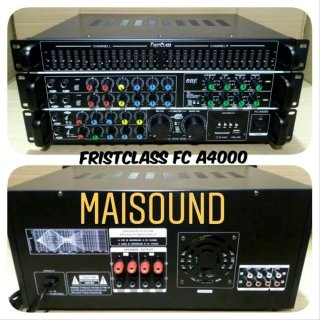 power ampli bluetooth firstclass fc a4000 amplifier mixer Bbe proceccor fca4000