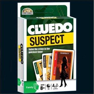 Cluedo Suspect Board Game Card