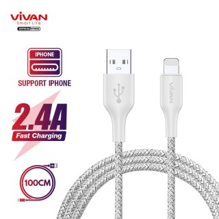 VIVAN Kabel iPhone FL100S Kabel Data Fast Charging