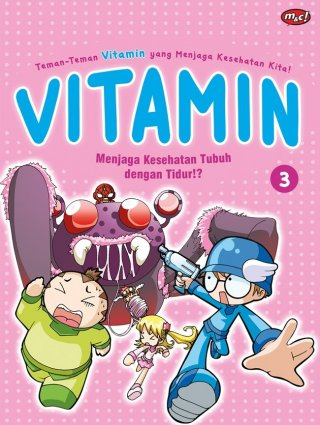 Komik Pendidikan Vitamin: Menjaga Kesehatan Tubuh dengan Tidur