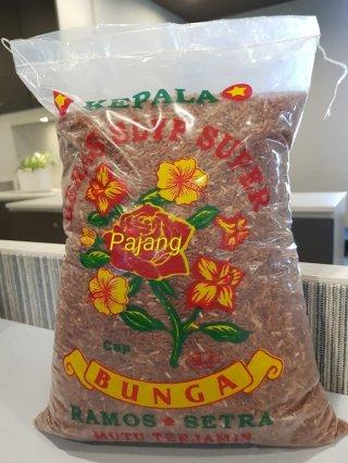 Beras Merah Cap Bunga 5kg