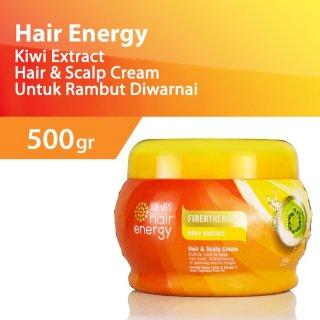 Makarizo Hair Energy Fibertherapy Hair & Scalp Cream Kiwi