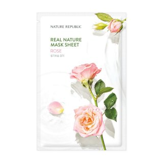 Nature Republic Real Nature Mask Sheet – Rose