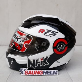 NHK Full Face GP1000 White Black