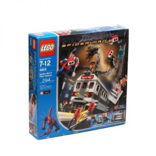 Lego Spider-Man's Train Rescue 4855