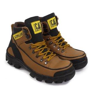 Sepatu Boots Safety Pria Caterpillar Argon