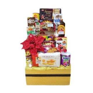 11. Parcel Makanan Ringan dengan Box Kemasan Eksklusif