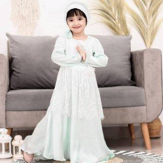Pretty Girl - Sariva Gaun Muslim Set