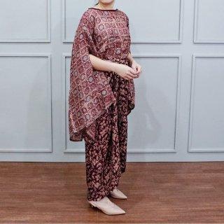 Rani Set 02-Dress Batik Setelan