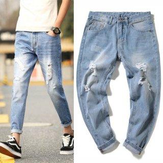 Men's Blue Jeans Denim