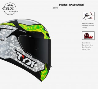 KYT TT Course Arbolino Helm Full Face