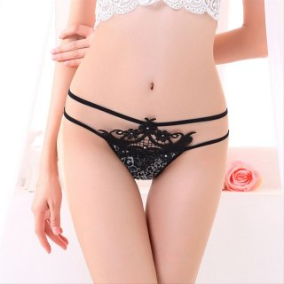 G String Seksi Celana Dalam Wanita Bikini Lingerie Underwear CDS071