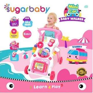 Sugar Baby Mini Car Push Walker Baby Walker