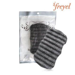 OLife Konjac Body Sponge - Black Charcoal / KSWV02