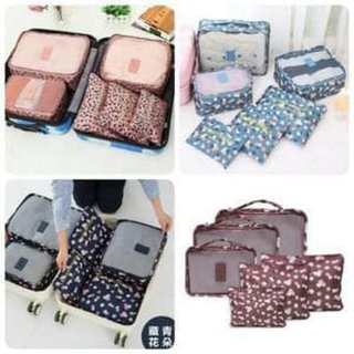 Bag 6 in 1 (6pcs) Travel Organizer