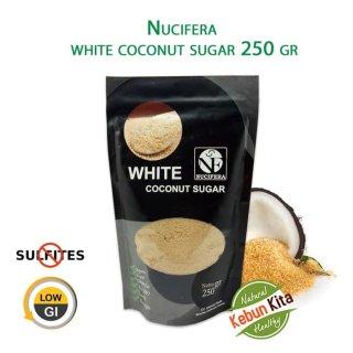 Nucifera Organic White Coconut Sugar 250 gram