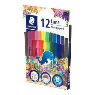 Staedtler Luna Fibre Tip Pens Set Spidol