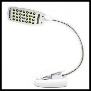 Lampu Meja Klip Jepit USB 28 LED
