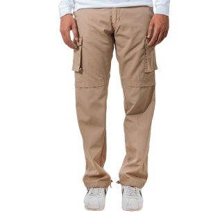 Wellborn Cargo Double Pocket Khaki Pants