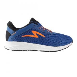 Sepatu Running Specs Skyfleet Black Lapis Blue