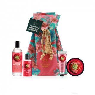 The Body Shop Gift Bath & Body Essentials Strawberry