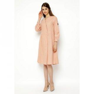 Novel Mice - Peach Overlap Dress