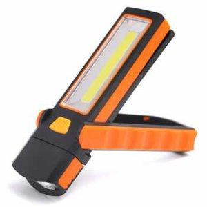 Senter LED Lantera Camping Magnetic COB 600 Lumens