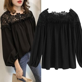 Raya Women Lace Chiffon Blouse