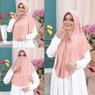 Hijab Bergo Niqob Hawwa 3 in 1