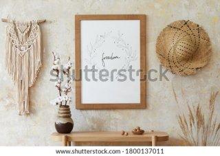 13. Wall Decor Estetik untuk Dinding