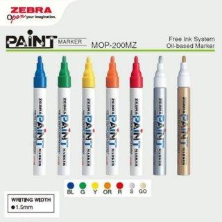 Spidol Zebra Paint Marker