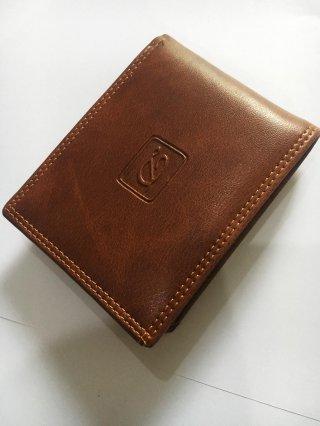 Dompet Kulit Pria Kreatif Tinggi Leather PU Wallet