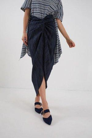 Berrybenka Shannon Lilit Skirt Navy