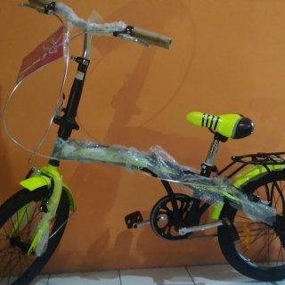United Genio Click Sepeda Lipat Anak 16 Inci