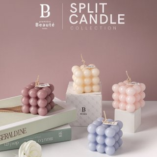 Premiere Beaute Scented Candle Relax Split Candle
