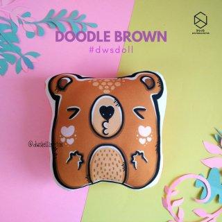 Doodle Boneka Bantal Beruang