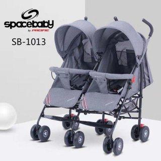 STROLLER/KERETA DORONG SB-1013 TWINS SPACE BABY