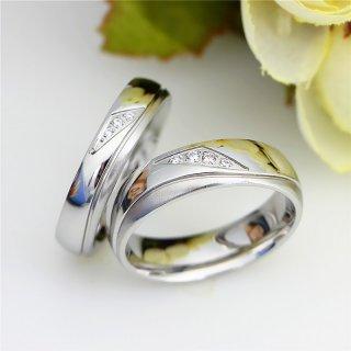 Cincin Couple / Tunangan / Nikah / Pasangan / Titanium Cocok untuk Hadiah C088