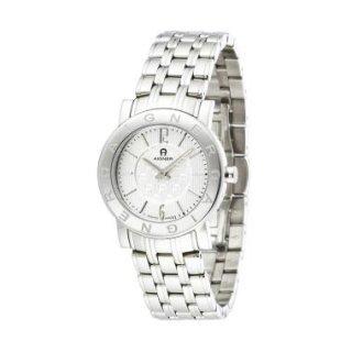 Aigner Cortina - Jam Tangan Wanita - Silver-Putih - Stainless Steel - A26216