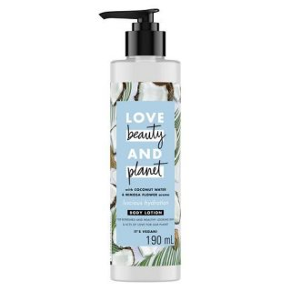 Beauty, Love and Planet, Coconut Water & Mimosa Flower Body Lotion