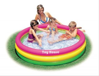 Intex-Kolam Renang Anak Pelangi Sunset Glow Baby Pool-57422 NP