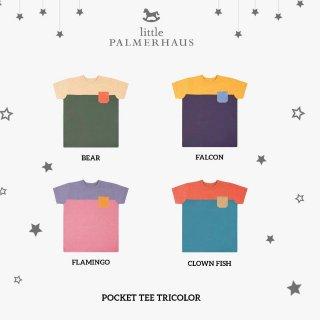 Little Palmerhaus - Pocket Tee Tricolor 2.0