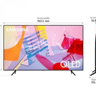 SAMSUNG 75Q60T 4K Smart TV 75 Inch