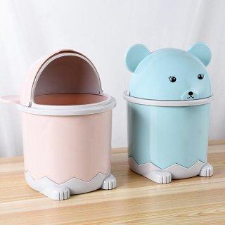 Tempat Sampah Meja Mini Karakter Tong Sampah Mobil Animal Karakter 3AS64