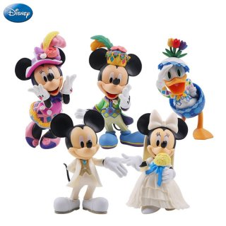 Action Figure Mickey and Minnie Mouse