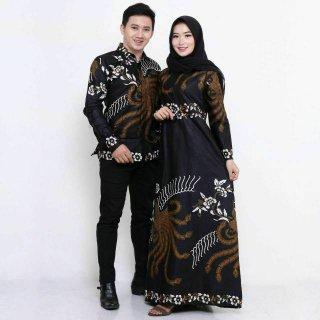 Baju Batik Couple Modern Monalisa Genes