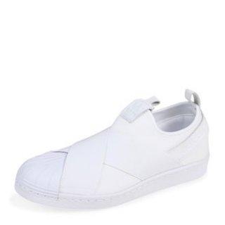 Adidas Originals Sepatu Superstar Slip-on Pria Putih FW7052