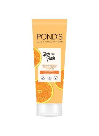 Pond's Juice Collection Orange Nectar Facial Foam