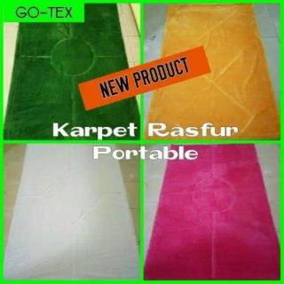 Karpet Bulu Rasfur Portable