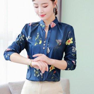 Korean Floral Blouse C001